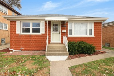 Calumet City Single Family Home For Sale: 393 Mackinaw Avenue