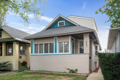 Oak Park Single Family Home New: 802 North Taylor Avenue