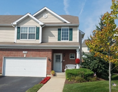 Plainfield Condo/Townhouse For Sale: 12928 White Pine Way