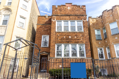 Multi Family Home New: 6423 North Leavitt Street