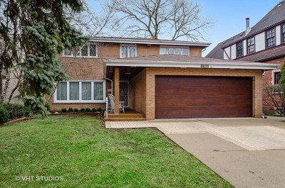 Winnetka, Wilmette, Evanston, Skokie, Northfield, Highland Park, Glenview, Glencoe, Kenilworth, Niles, Morton Grove, Lincolnwood, Lincolnshire, Bannockburn Single Family Home New: 6635 North Ramona Avenue