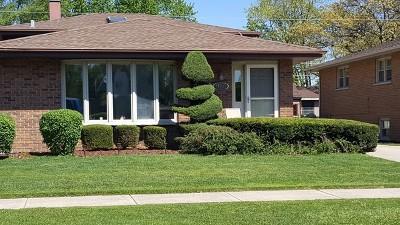 Alsip Single Family Home New: 11715 South Lavergne Avenue