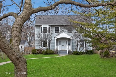 Evanston Single Family Home For Sale: 2029 Colfax Street