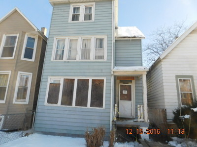 Chicago IL Single Family Home Re-Activated: $30,000