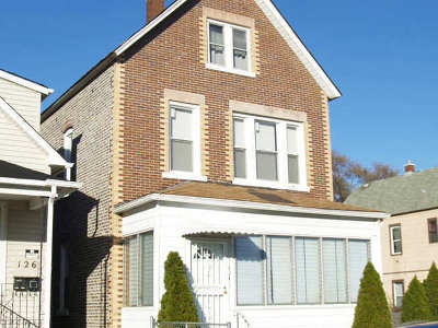 Calumet City Multi Family Home For Sale: 124 155th Place