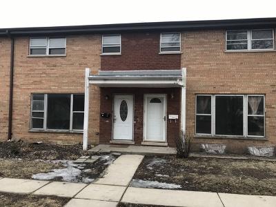 North Aurora Condo/Townhouse For Sale: 211 Linn Court #B