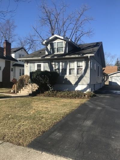 Homewood Single Family Home New: 18444 Klimm Avenue