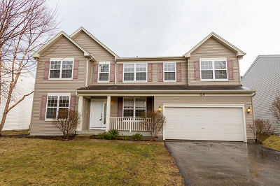Gilberts Single Family Home Contingent: 319 Gregory M Sears Drive