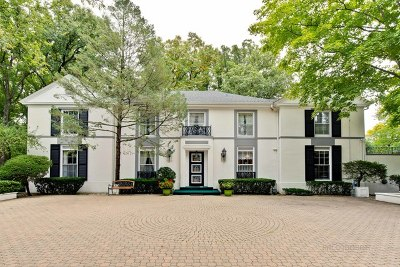Winnetka Single Family Home For Sale: 39 Locust Road
