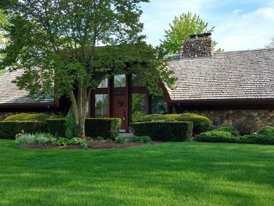 Burr Ridge Single Family Home New: 128 Stirrup Lane