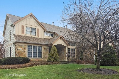 Buffalo Grove Single Family Home New: 445 Mayfair Lane