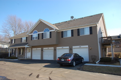 Lake In The Hills Rental Re-Activated: 336 Village Creek Drive #2D