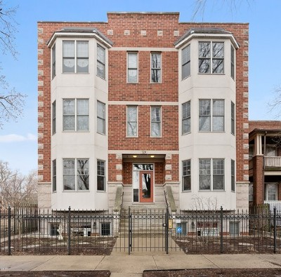 Condo/Townhouse New: 7230 North Oakley Avenue #1S