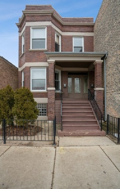Multi Family Home For Sale: 4317 North Kedzie Avenue