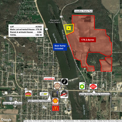 Ogle County Residential Lots & Land New: 551 North River Road