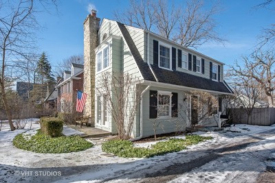 Winnetka Single Family Home For Sale: 1423 Tower Road