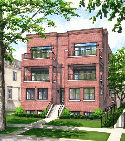 Condo/Townhouse For Sale: 1302 West Winona Street #3W
