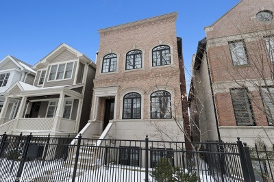 Single Family Home New: 3926 North Marshfield Avenue