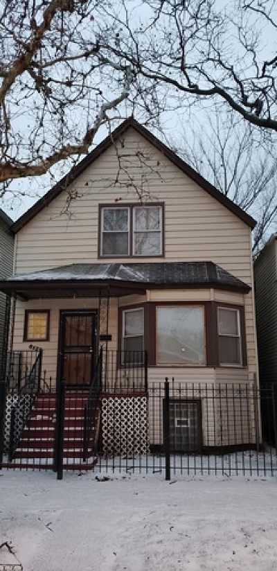 Single Family Home For Sale: 8129 South Burnham Avenue