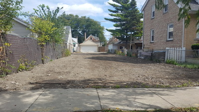 Chicago Residential Lots & Land New: 3523 North Pontiac Avenue