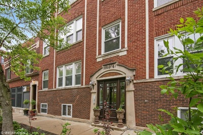 Condo/Townhouse New: 5861 North Glenwood Avenue #G