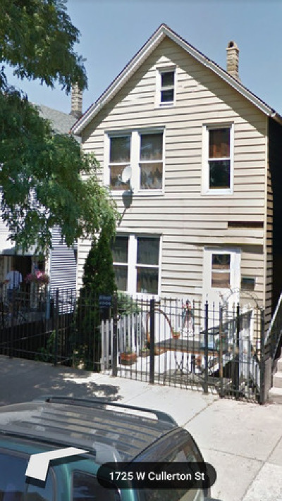 Chicago Multi Family Home New: 1726 West Cullerton Street