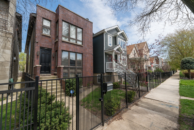 Single Family Home For Sale: 2648 West Homer Street