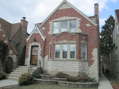 Chicago Multi Family Home New: 6118 West Nelson Street