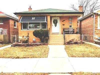 Calumet Park Single Family Home For Sale: 12454 South Racine Avenue