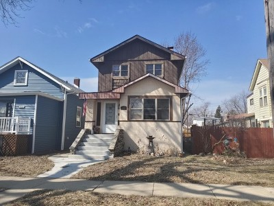 Cook County Single Family Home Re-Activated: 3312 Harvey Avenue