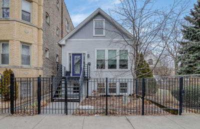 Chicago Single Family Home New: 2437 North Fairfield Avenue