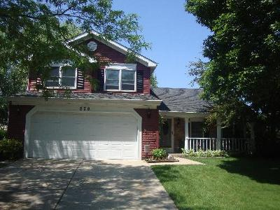 Du Page County Single Family Home New: 970 Hill Crest Drive