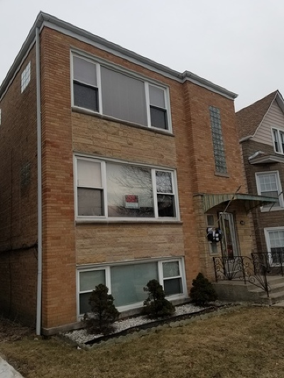 Chicago Multi Family Home New: 5649 West Montrose Avenue