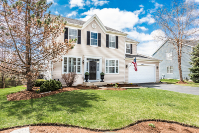 Wauconda Single Family Home Price Change: 2219 Trailside Lane