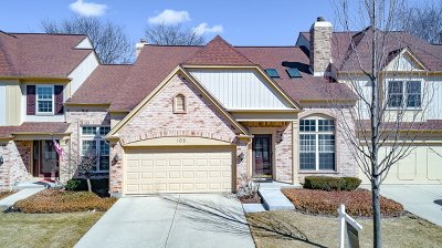 Du Page County Condo/Townhouse New: 105 Versailles Court #105