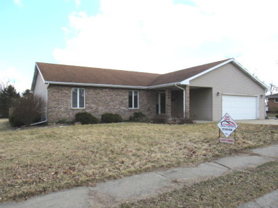 Clinton IL Single Family Home For Sale: $125,000