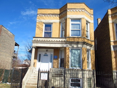 Cook County Multi Family Home New: 2650 West Wilcox Street
