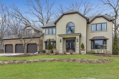 Lemont IL Single Family Home New: $625,000