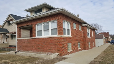 Cook County Single Family Home New: 3001 North Newland Avenue