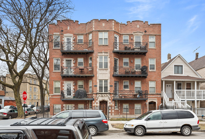 Cook County Condo/Townhouse New: 4157 North Bernard Street #3
