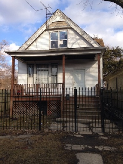 Chicago Single Family Home New: 11339 South Yale Avenue