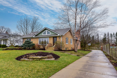 Downers Grove Single Family Home New: 123 West Traube Avenue