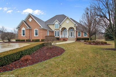 Du Page County, Kane County, Kendall County, Will County Single Family Home New: 25634 South Kensington Lane