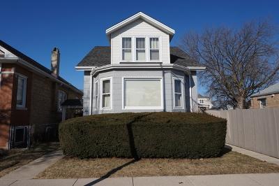 Chicago Single Family Home New: 5122 North Austin Avenue