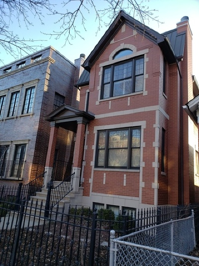 Chicago Single Family Home New: 1623 North Bell Avenue