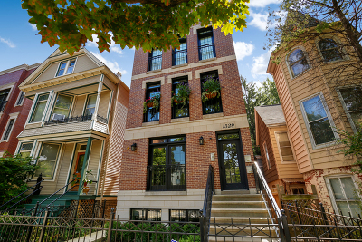 Condo/Townhouse New: 1529 West Roscoe Street #1