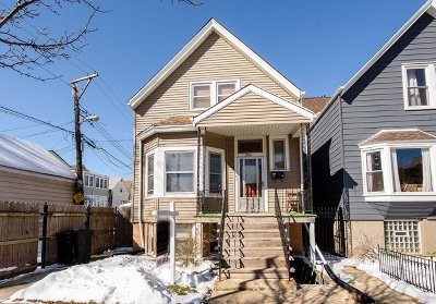 Chicago Single Family Home New: 2912 North Whipple Street