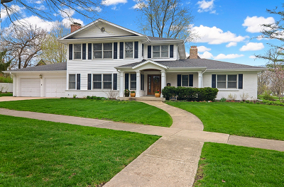 Glen Ellyn Single Family Home For Sale: 722 Revere Road