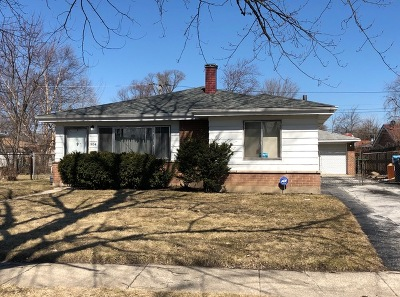 Calumet City Single Family Home New: 904 160th Place
