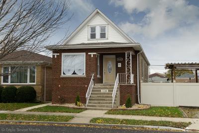 Chicago Single Family Home New: 5738 South Austin Avenue